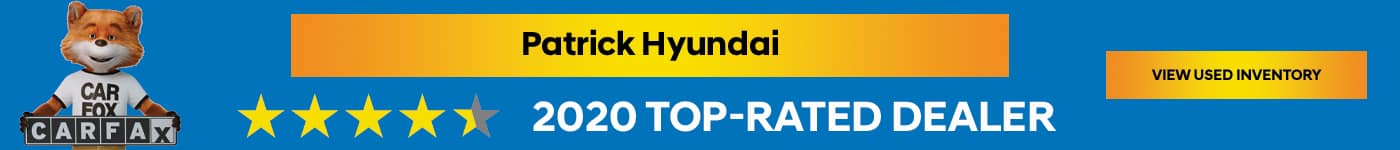 Patrick Hyundai Subtext: 2020 Top Rated Dealer