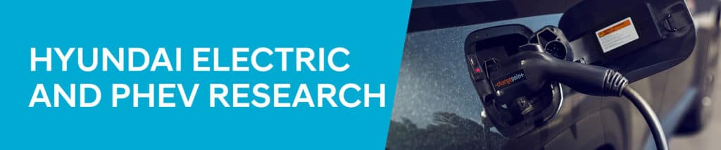 Hyundai Electric and PHEV Research