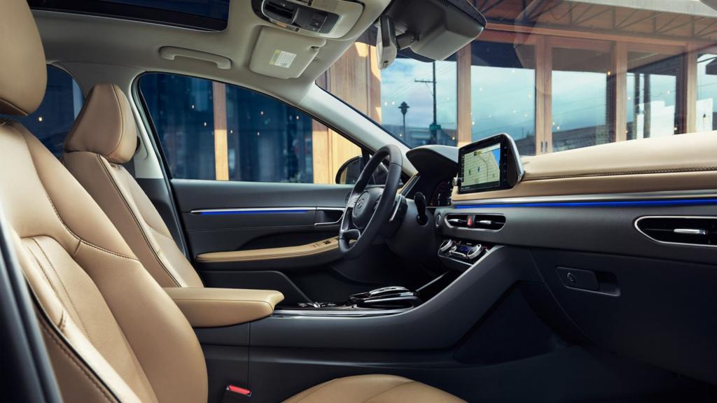 2020 Hyundai Sonata interior Bartlesville OK