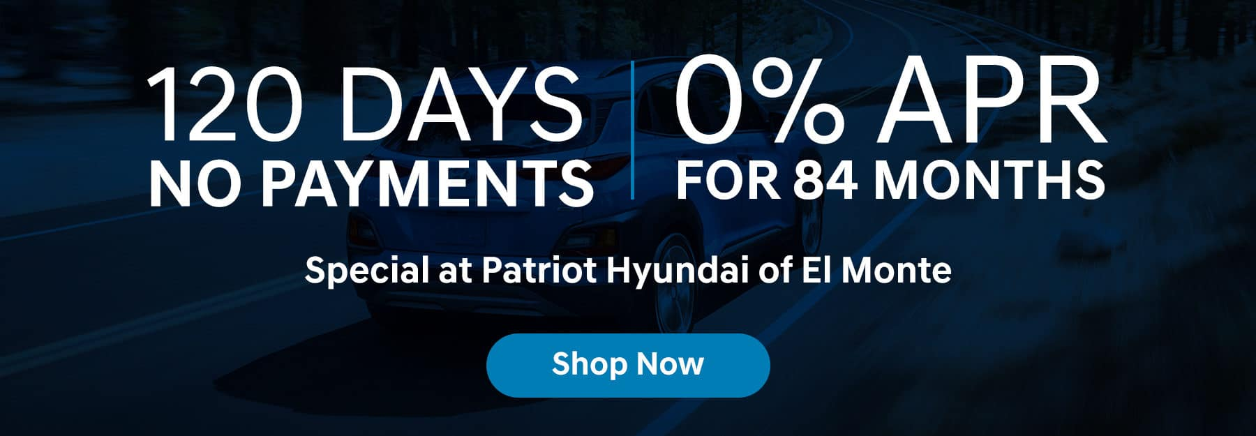 120 day 0% APR no payments for 84 months