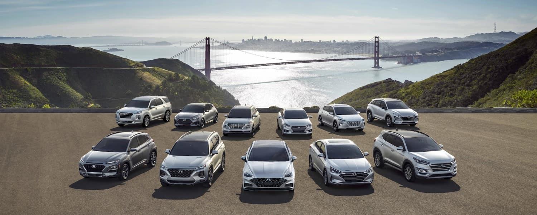 New Hyundai Model Line Up