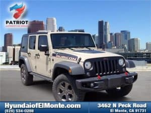 Exclusive Used Jeep Wrangler