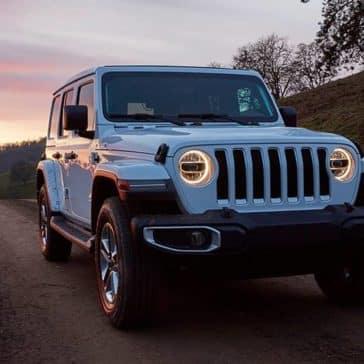 2020 Jeep Wrangler At Dusk