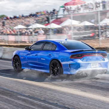 2020 Dodge Charger On The Track