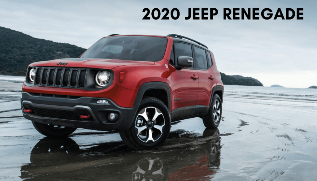 <center>2020 Jeep Renegade Lattitude 4x4</center>