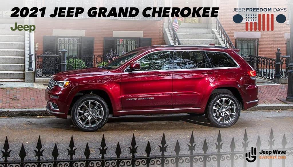 <center>2021 Jeep Grand Cherokee Laredo E 4x2</center>