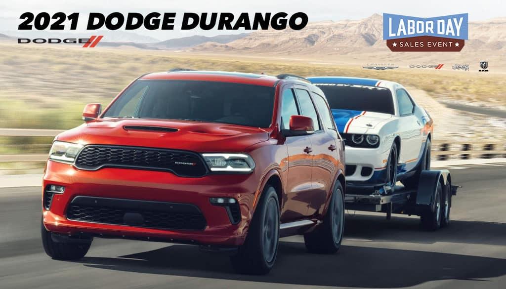 <center>2021 Dodge Durango SXT RWD</center>