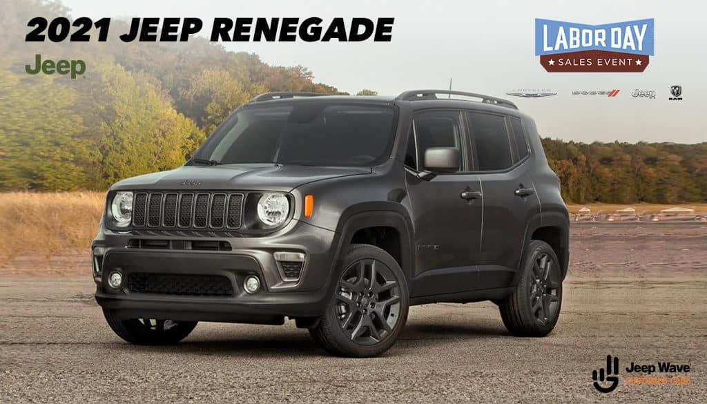 <center>2021 Jeep Renegade Latitude FWD</center>