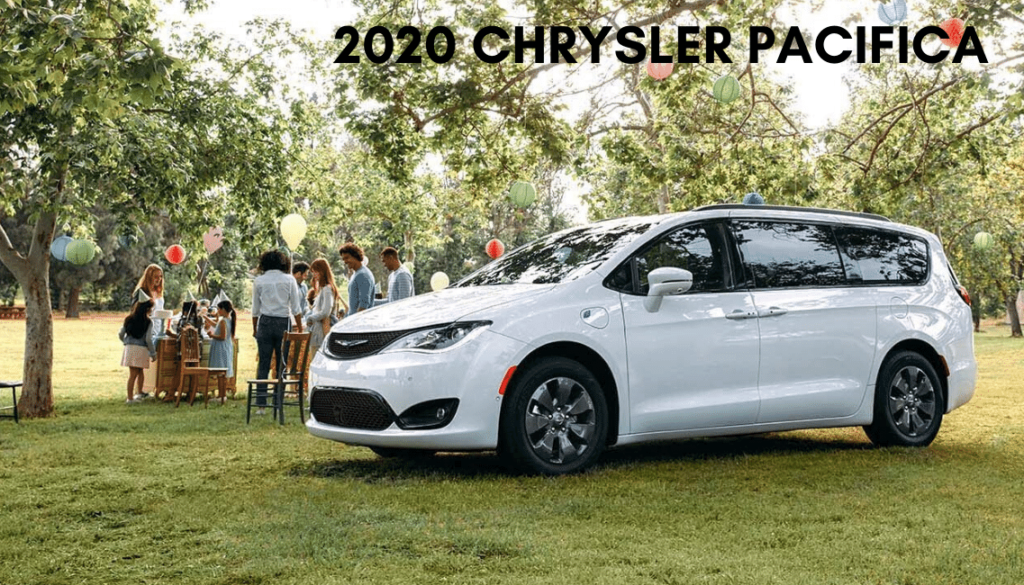 <center>2020 Chrysler Pacifica Limited</center>