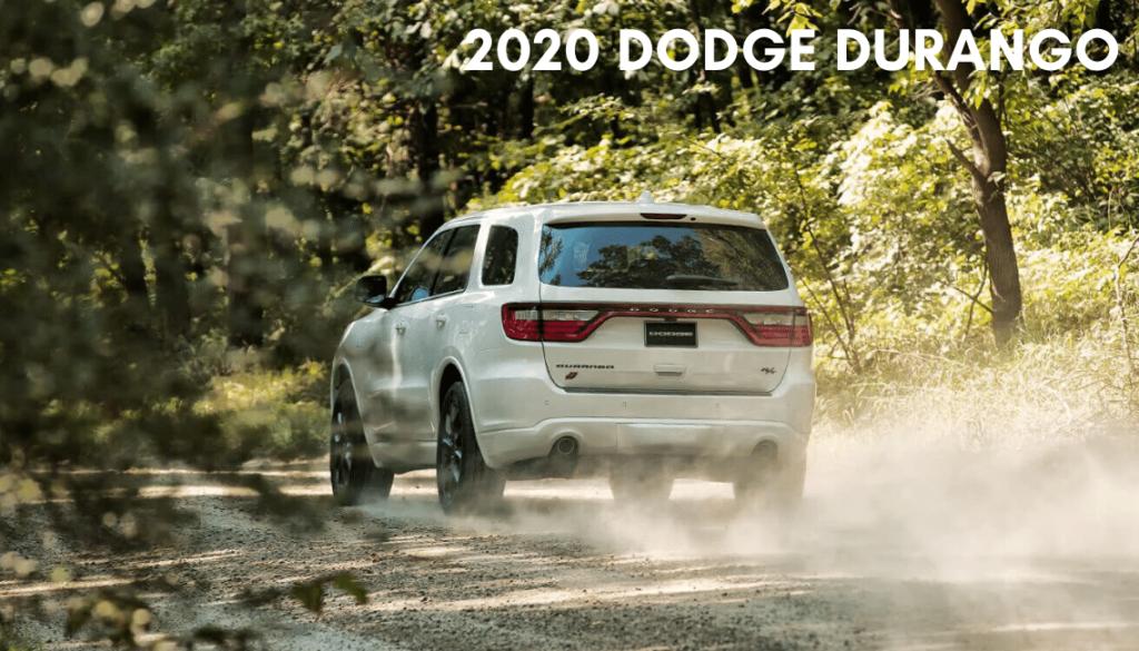 <center>2020 Dodge Durango</center>