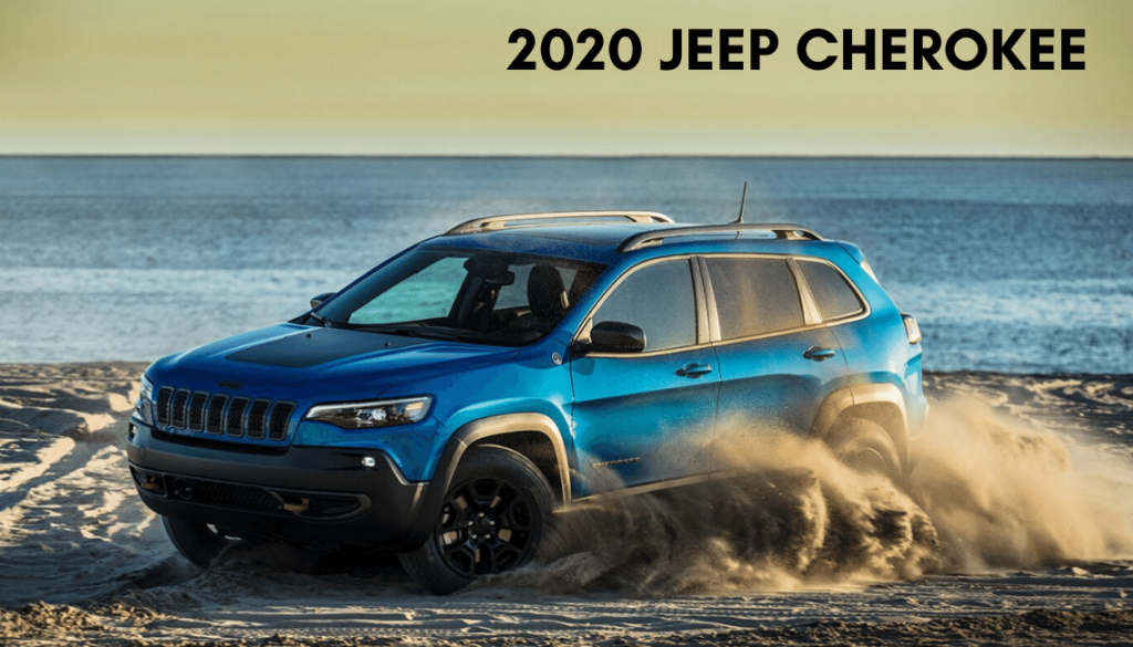 <center>2020 Jeep Cherokee Limited FWD</center>