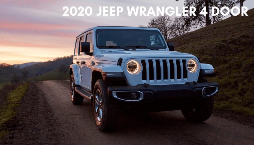<center> 2020 Jeep Wrangler Unlimited Sport 4 Door </center>