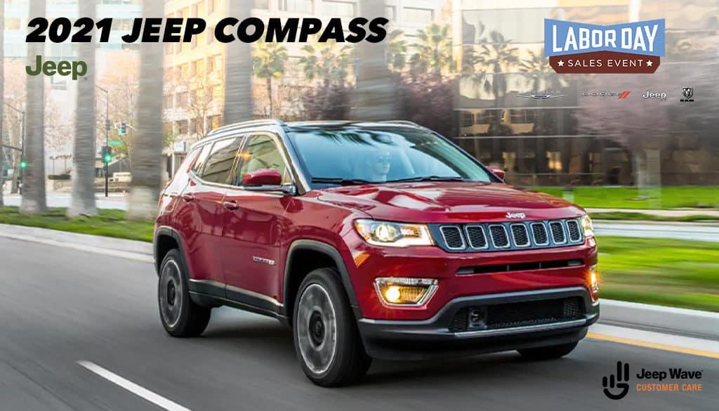 <center>2021 Jeep Compass Latitude FWD</center>