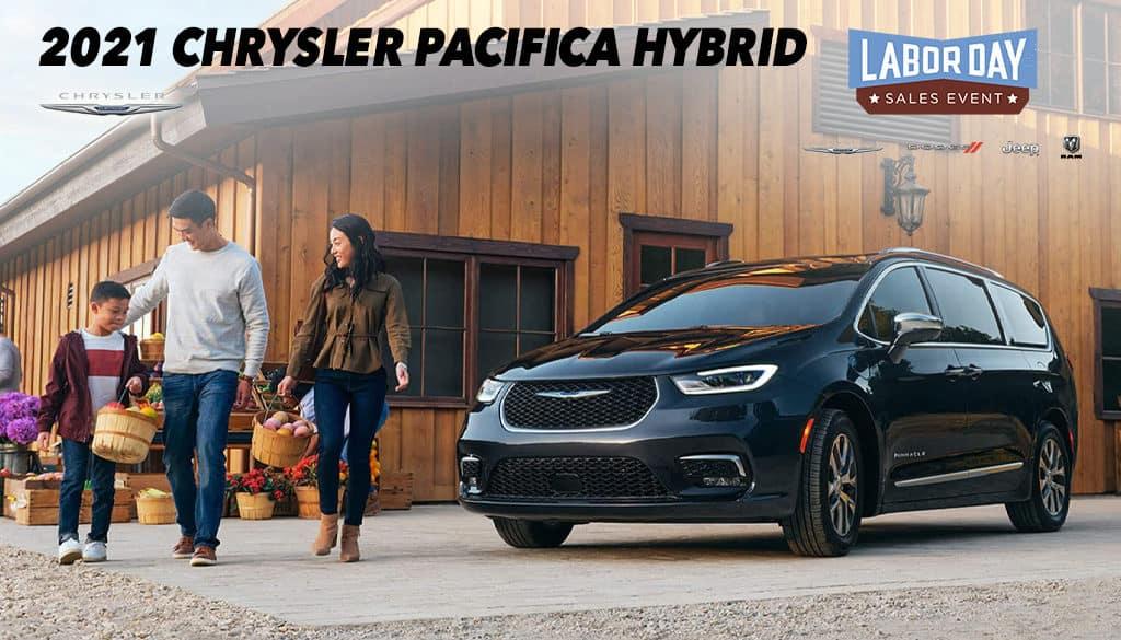 <center>2021 Chrysler Pacifica Hybrid</center>