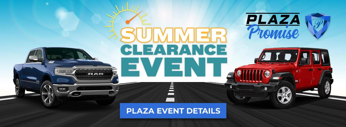 Summer Clearance Event on Chrysler Dodge Jeep RAM in Inverness FL