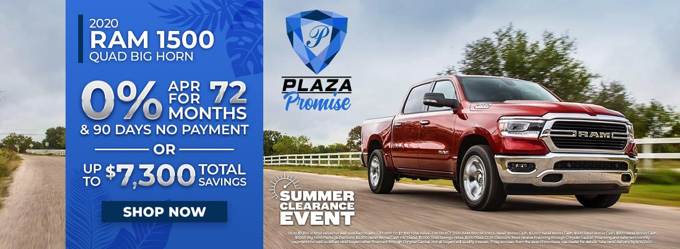 Ram 1500 Monthly Offer in Inverness FL