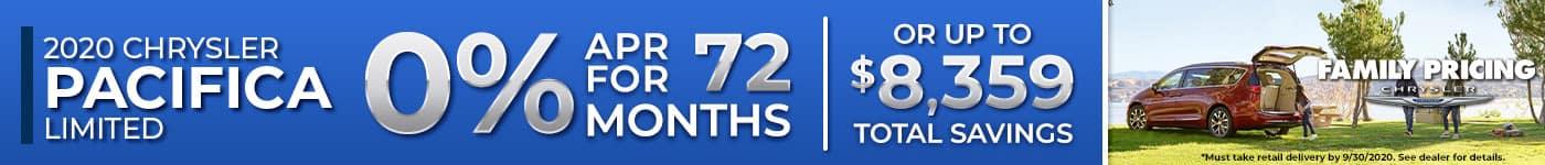 2020 Chrysler Pacifica – Plaza CDJR – September 2020 SRP Banner