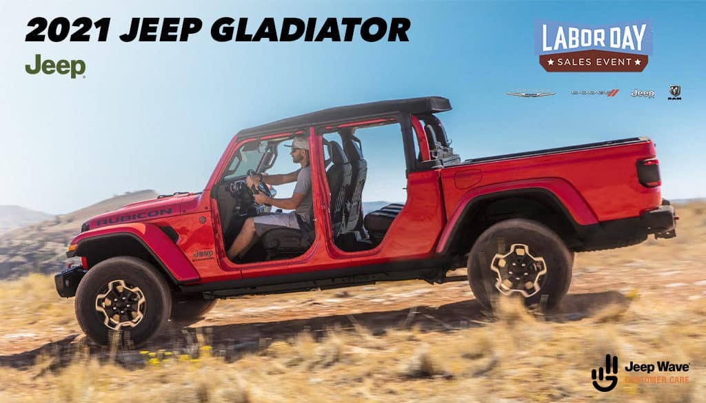 <center>2021 Jeep Gladiator Sport 4x4</center>