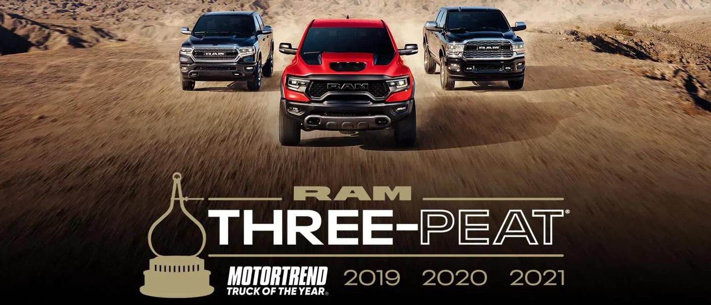 Three Peat 2021 RAM 1500