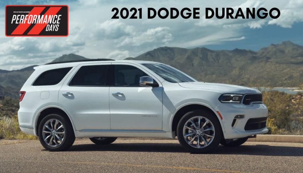 <center>2021 Dodge Durango</center>