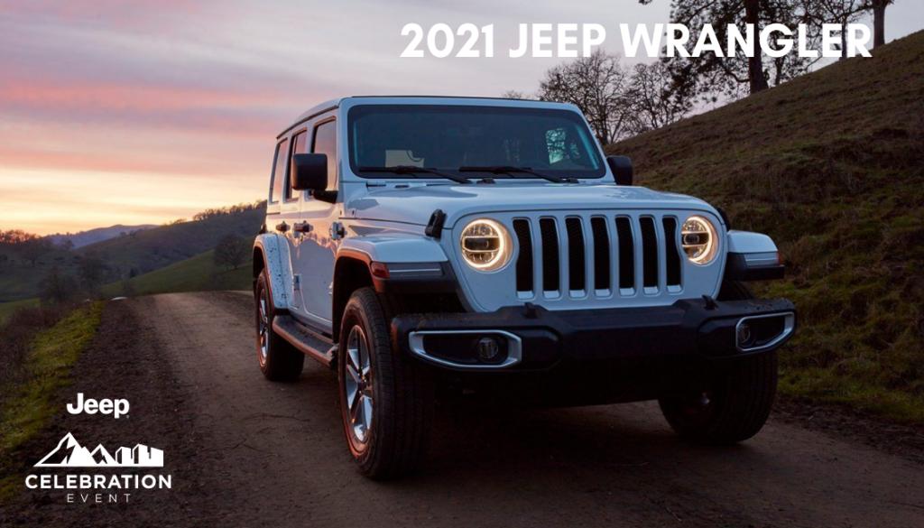 <center> 2021 Jeep Wrangler </center>