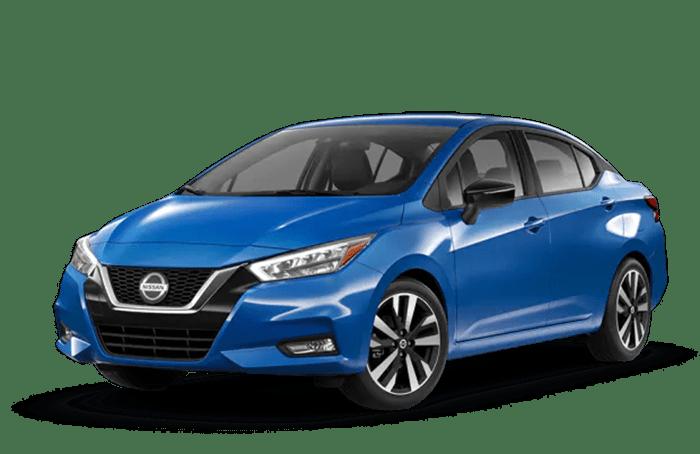 2020 Nissan Versa Blue