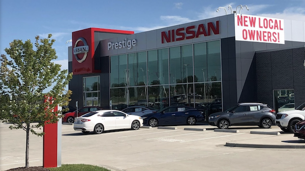 Prestige Nissan Legends Dealership in Kansas City KS