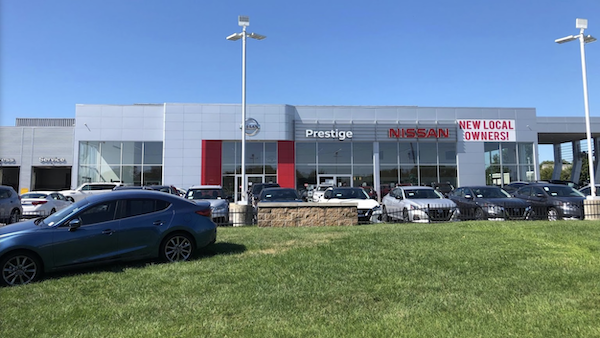 Prestige Nissan Tiffany Springs Dealership in Kansas City MO