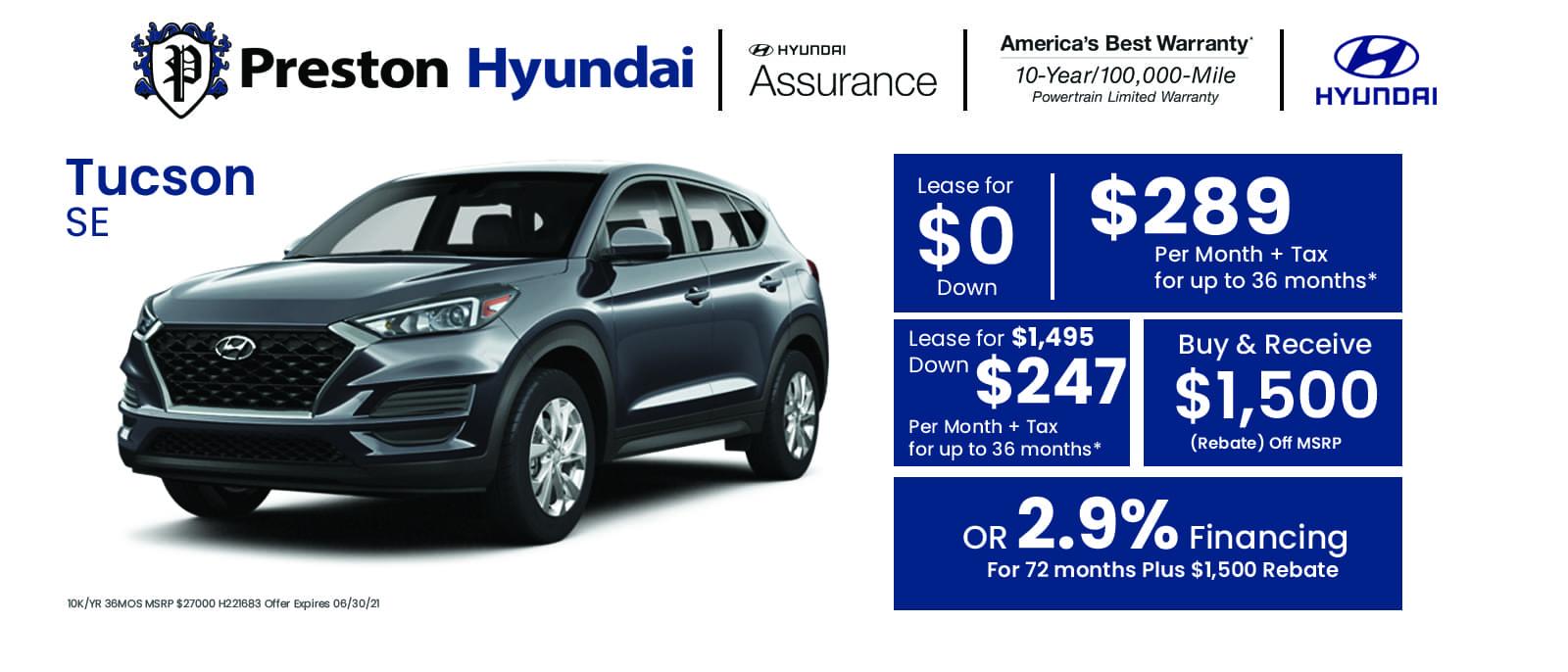 Hyundai Banner Tucson jun