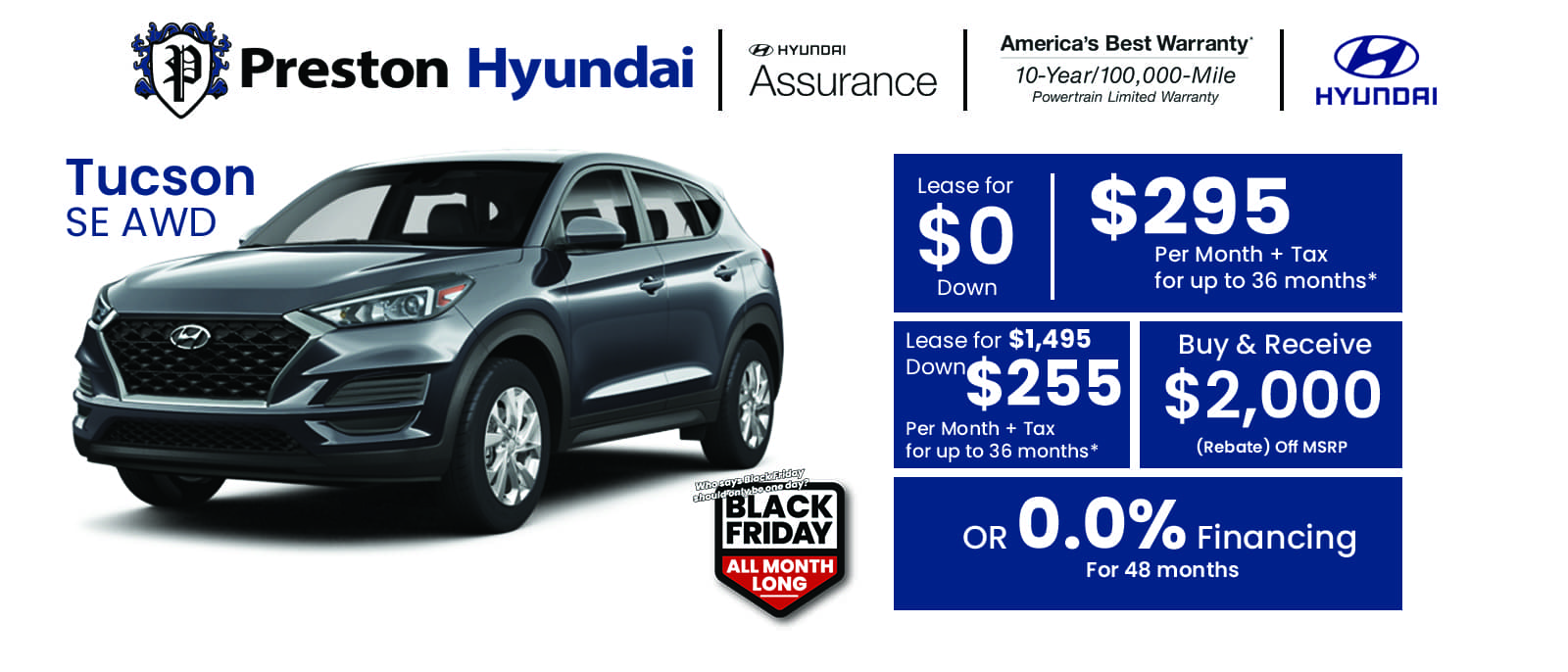 Hyundai Banner Tucson oct