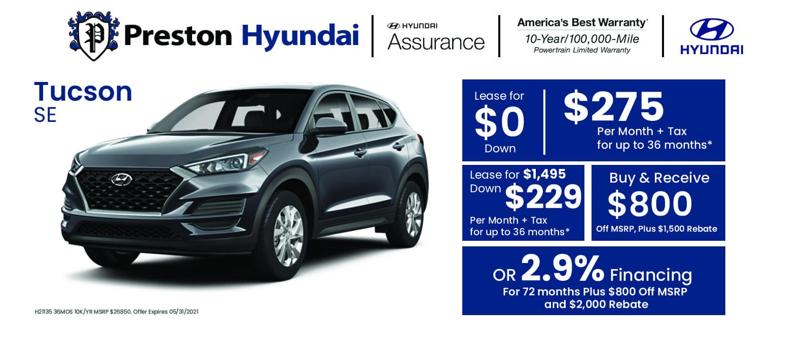 Hyundai Banner Tucson