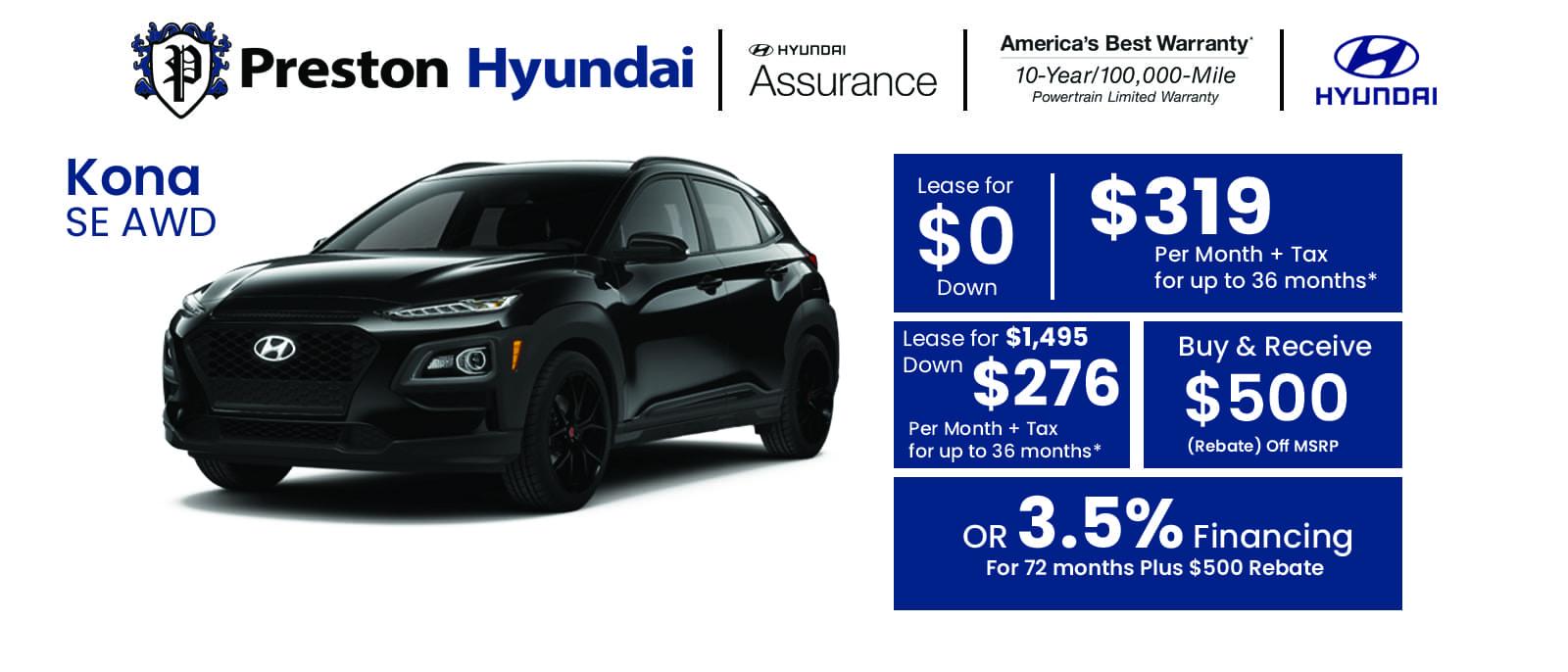 Hyundai Banner kona jul