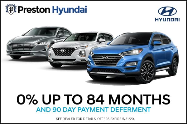 Get 0% for 84 months!