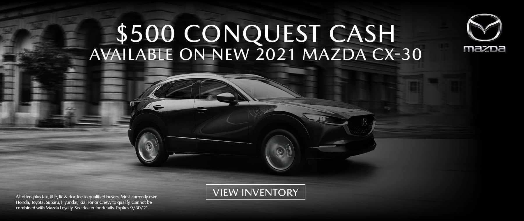 PUGI-MAZ-CX30-CONQUEST-$500-SEPT-1800×760