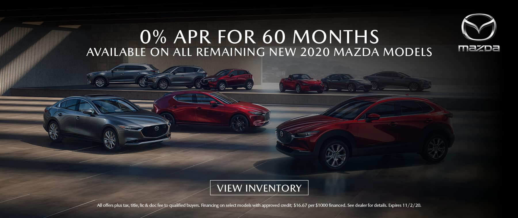 0% APR For 60 Months