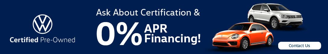Ask About Certification & Financing