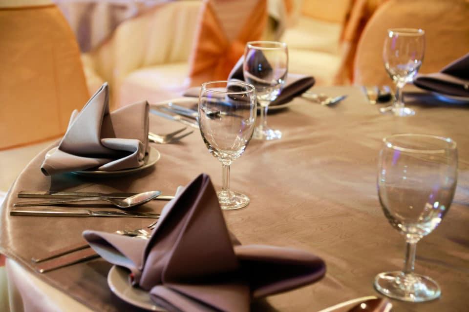 prepared gala dinner