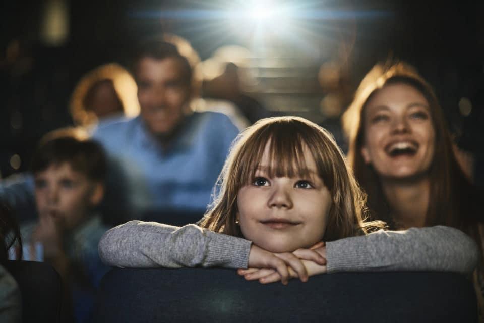 family at movies