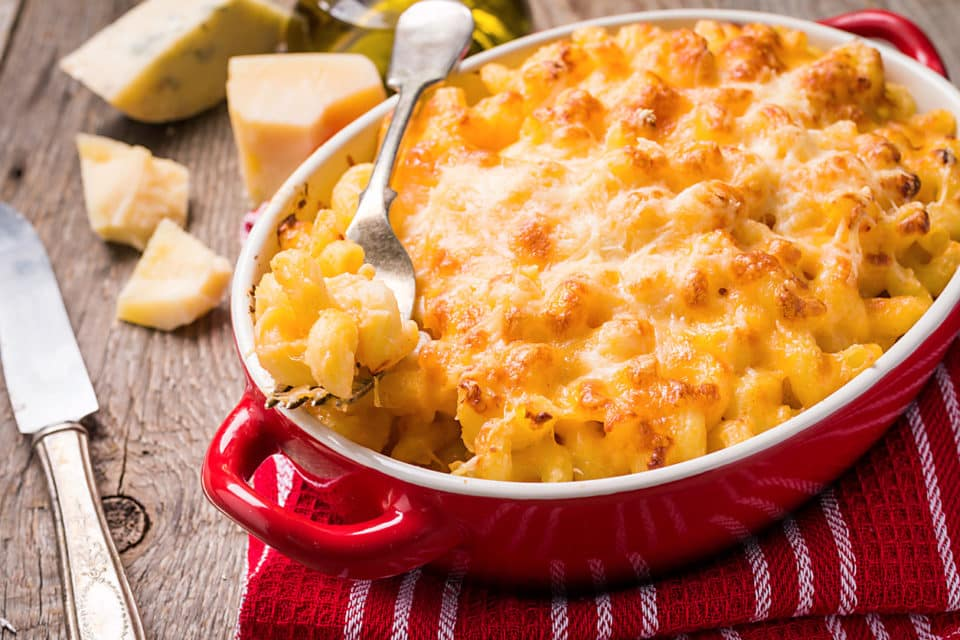 mac and cheese baked