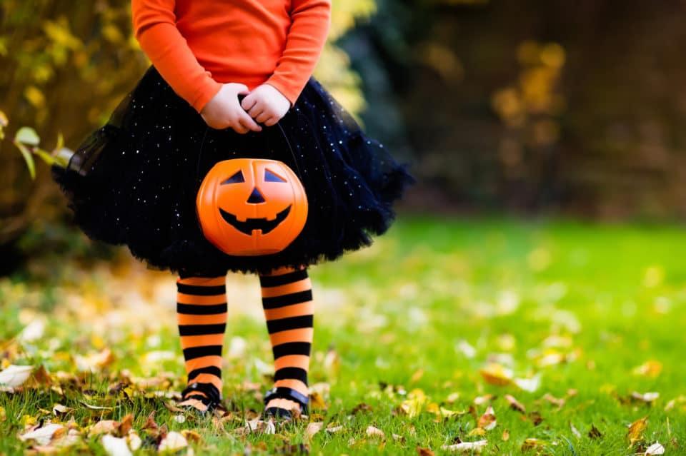 little girl halloween