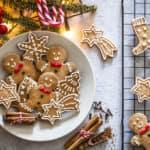 Homemade Christmas cookies