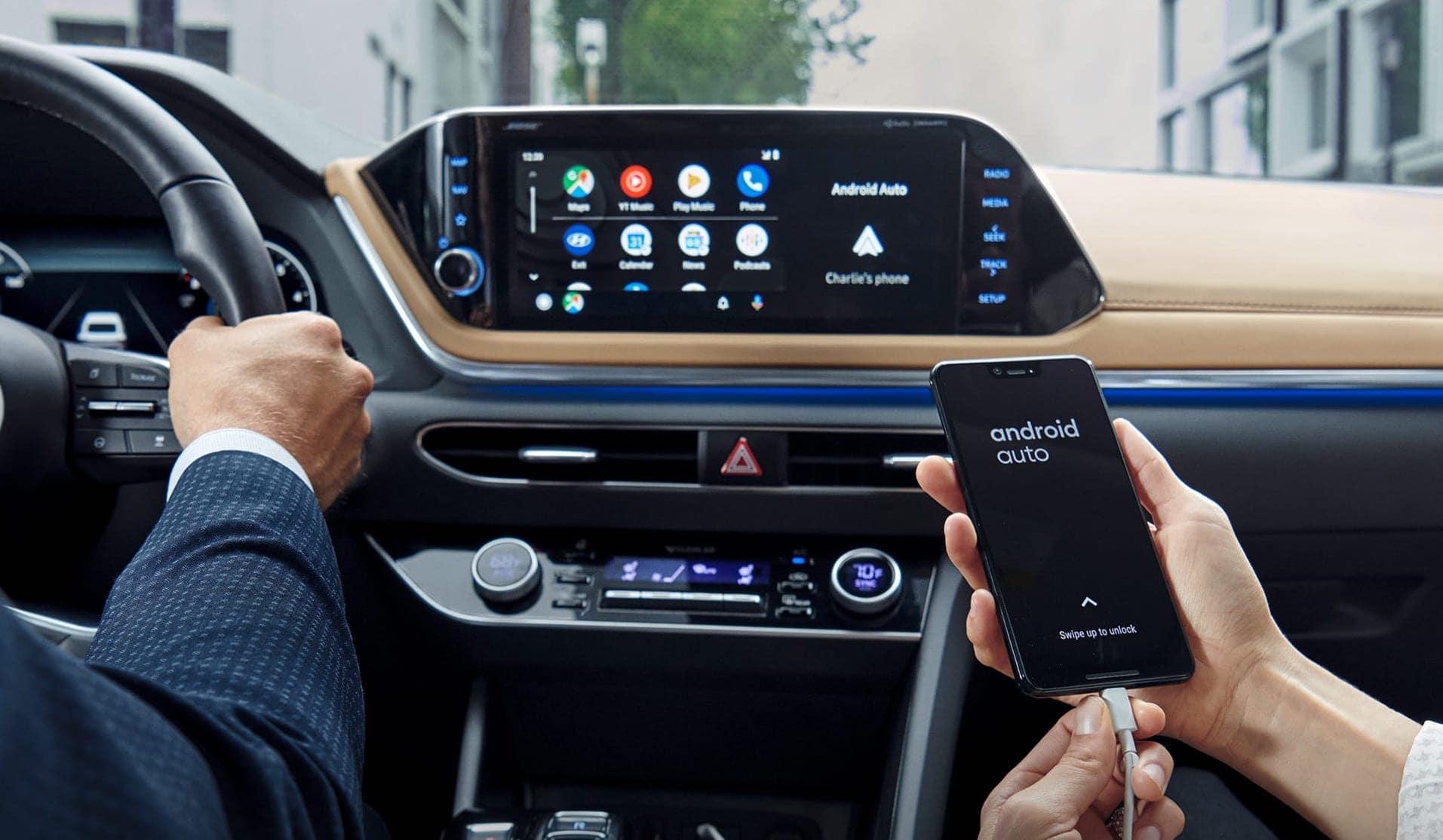 2020 Hyundai Sonata interior available in Springfield VA