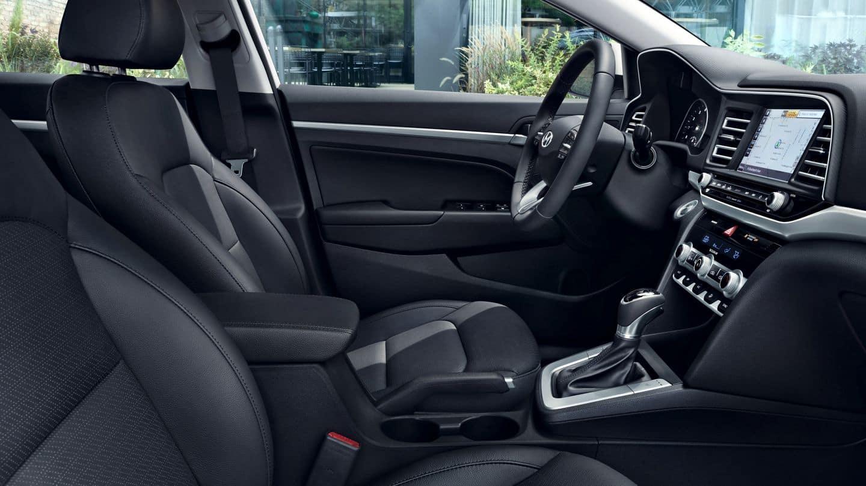 2020 Hyundai Elantra interior available in Springfield VA