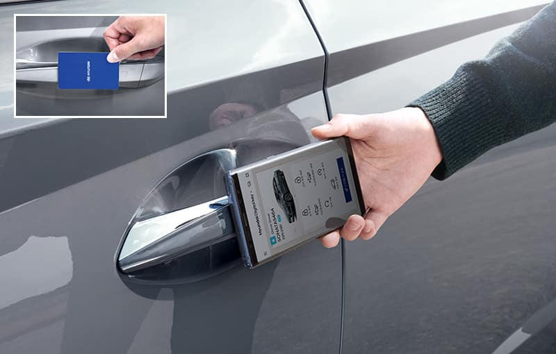 2020 Hyundai Sonata Key Card