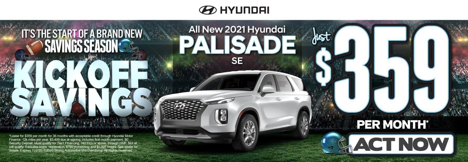 All New 2021 Hyundai Palisade | Just $359 per month | Click to View Inventory