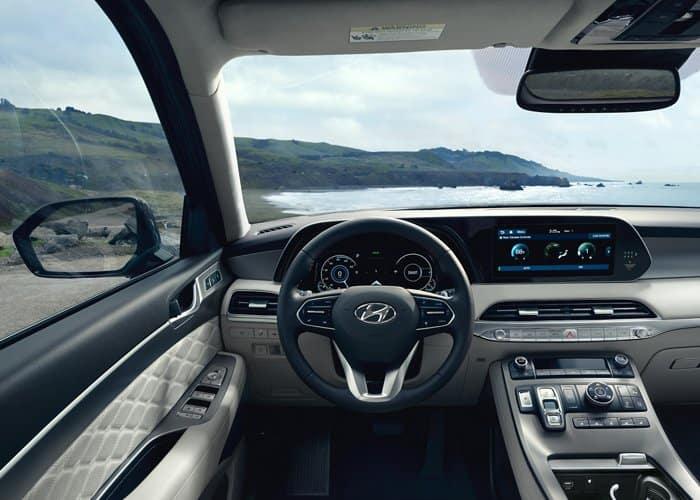 2022 Hyundai Palisade interior available in Springfield VA