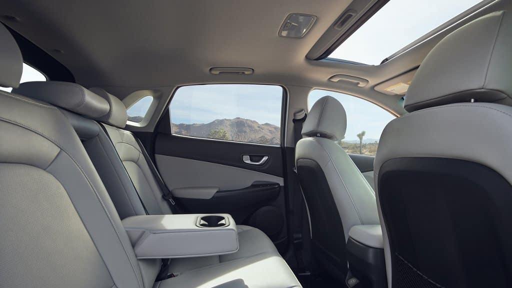 2022 Hyundai Kona interior available in Springfield VA