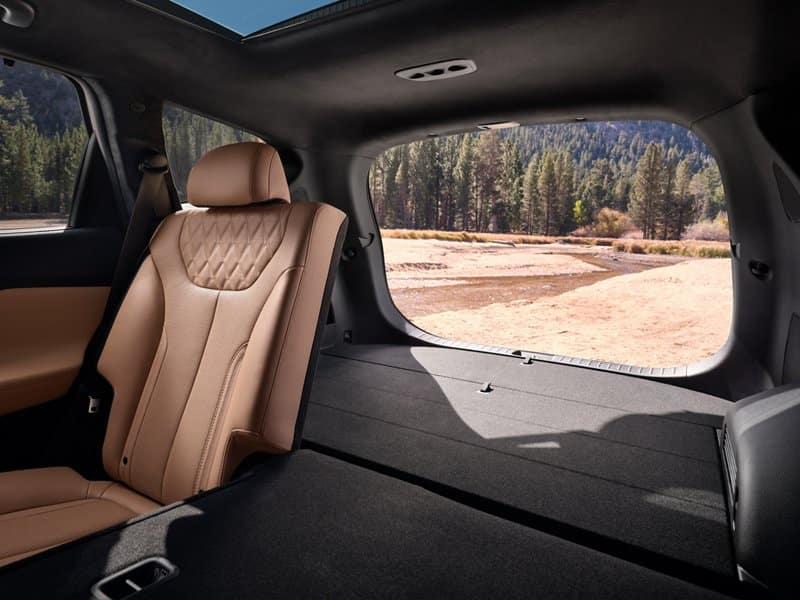 2022 Hyundai Santa Fe interior available in Springfield VA
