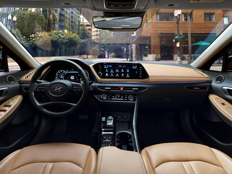 2022 Hyundai Sonata interior available in Springfield VA