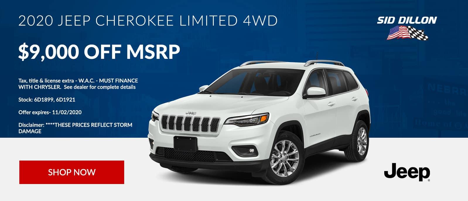 200 Jeep Cherokee Limited